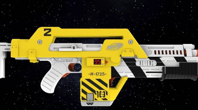 A Hasbro új Nerf puskája az Aliens-rajongók álma bevezetőkép