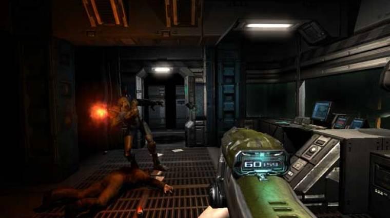 Doom III - GPL licenc alatt ingyenesen elérhető a forráskód bevezetőkép