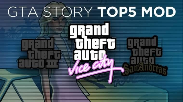 GTA: Vice City - Top 5 mod bevezetőkép