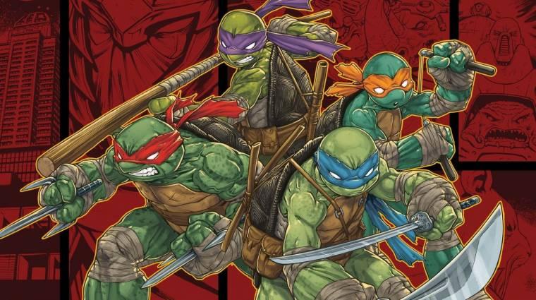 Seth Rogen készíti a következő Tini nindzsa teknőcök mozit bevezetőkép