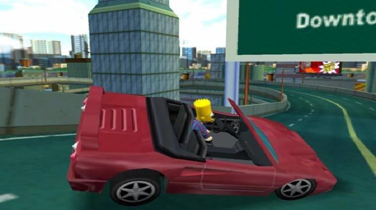 Már játszható volt a The Simpsons: Hit & Run 2, mielőtt elkaszálták bevezetőkép