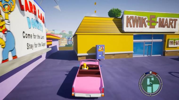 A The Simpsons: Hit and Run rajongói, Unreal Engine 5-ös remake-je elképesztően néz ki bevezetőkép