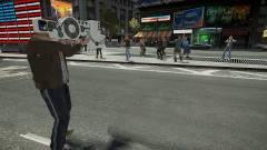 Grand Theft Auto IV - dubstep fegyver élesítve kép