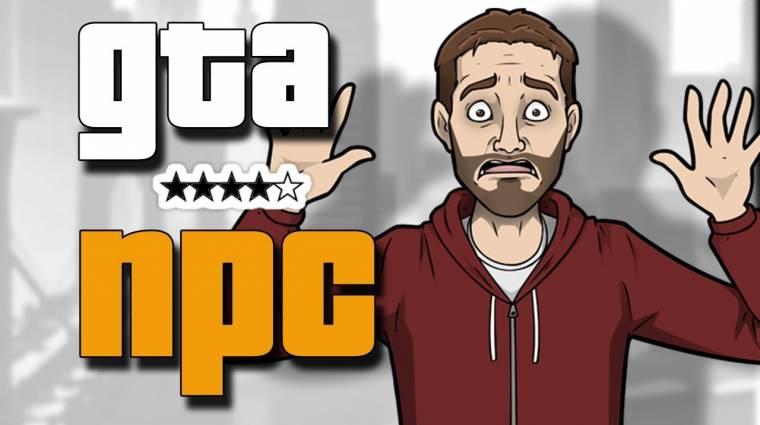 Grand Theft Auto - de mit érez egy NPC? (videó) bevezetőkép