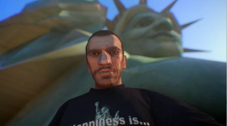 Grand Theft Auto IV - itt is hódít a szelfi bevezetőkép