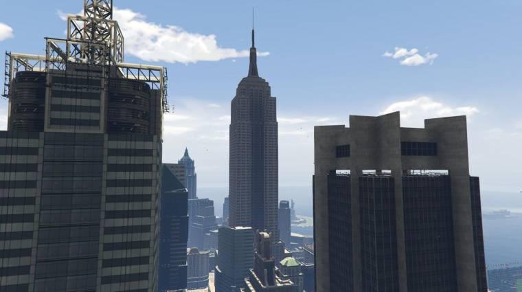 Ez a Grand Theft Auto V mod Liberty Citybe visz el bevezetőkép
