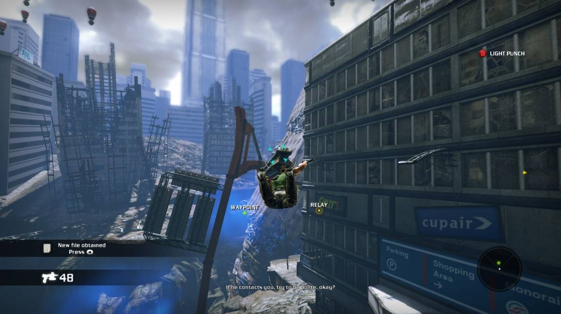 Bionic Commando - PC-s teszt bevezetőkép