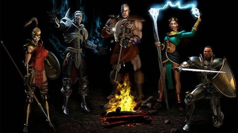 Diablo 2 - már modern PC-ken is játszható bevezetőkép