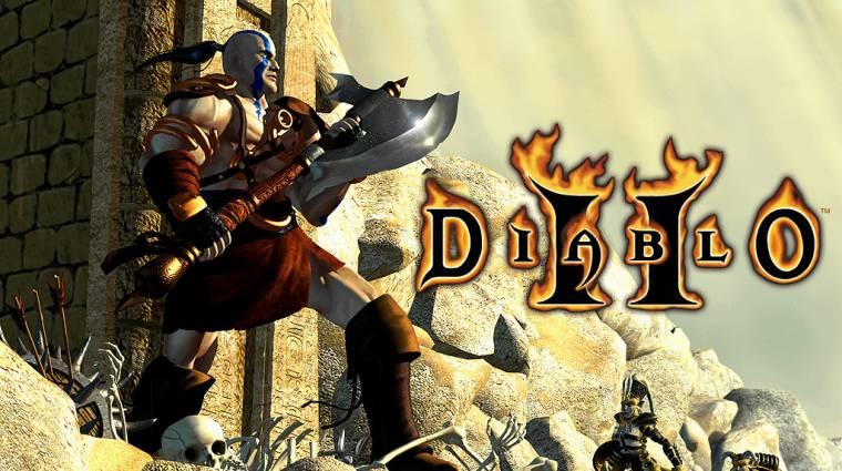 A Diablo II fejlesztésének vége felé majdnem elveszett a teljes játék bevezetőkép