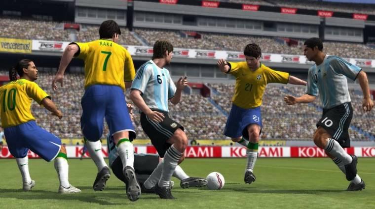Pro Evolution Soccer 2009 - Menetrendszerűen érkezik bevezetőkép