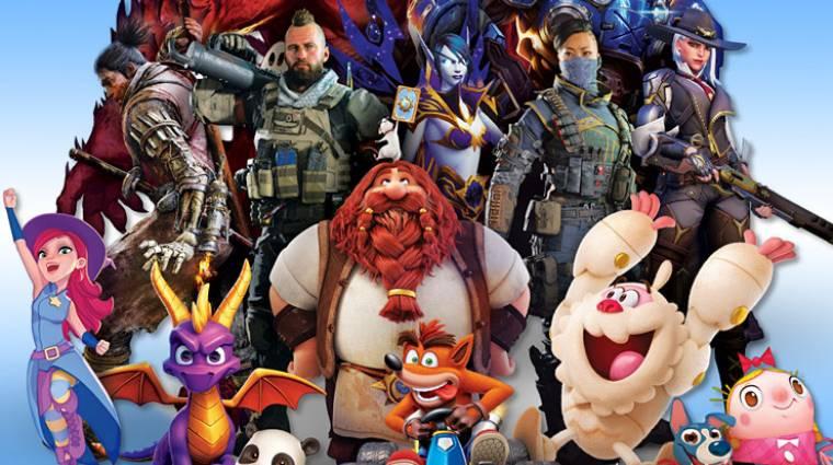 Elcsendesedtek az Activision Blizzard közösségi médiás oldalai bevezetőkép