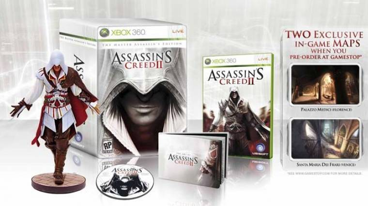 Assassin's Creed 2 - Íme a limitált kiadás tartalma - frissítve bevezetőkép