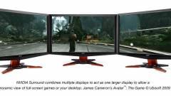 3D Vision Surround: Eyefinity-ellenfél az NVIDIA-tól kép