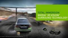 NVIDIA WHQL driver a 3D Vision Surroundhoz kép