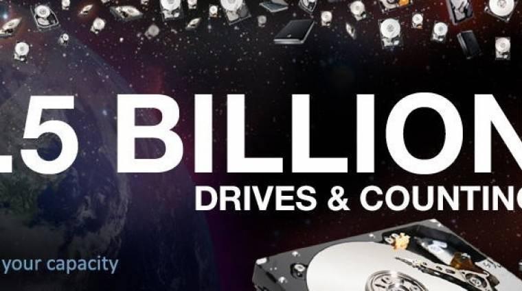 1,5 milliárd HDD a Seagate-től kép