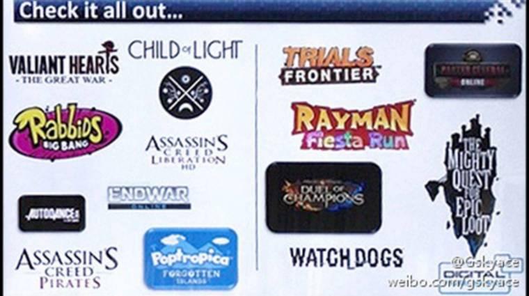 Ubisoft - kiszivárogtak az új játékok bevezetőkép