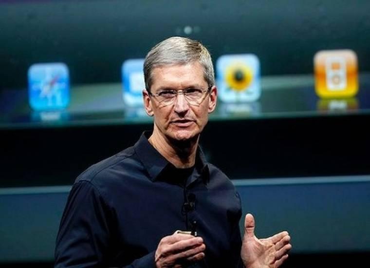 Tim Cook az Apple 2012-es évértékelőjén
