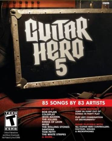 Guitar Hero 5 kép