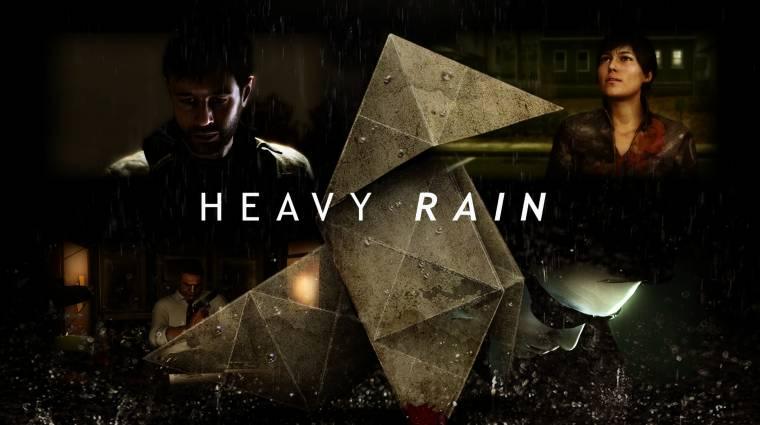 Heavy Rain - szebben és jobban fut PlayStation 4-en (videó) bevezetőkép