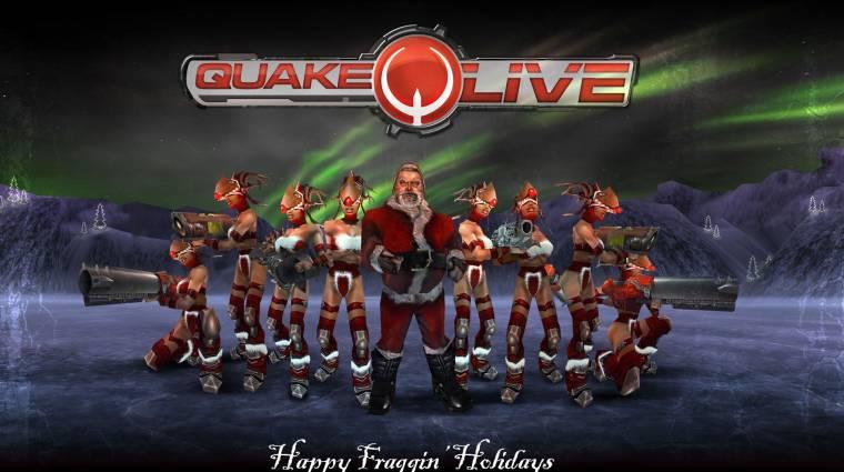 Quake Live - Premium membership az újonnan érkezőknek bevezetőkép