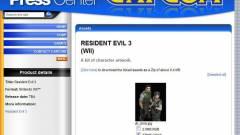 Nem létezik Resident Evil 3 átirat Wii platformra kép