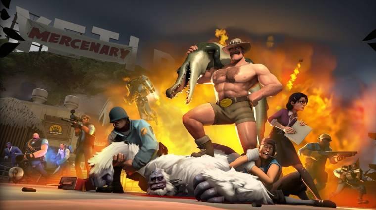 Team Fortress 2 - dzsungelbe visz az új frissítés bevezetőkép