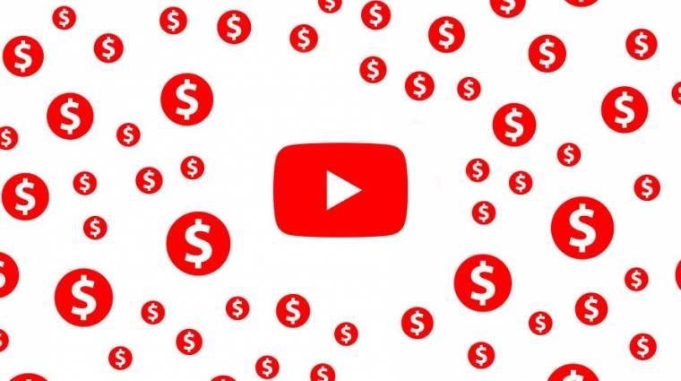 Belefullad a YouTube a reklámbevételekbe kép