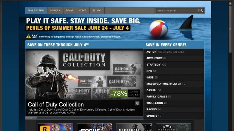5 százaléka a Steam felhasználóknak játszik Mac-ről bevezetőkép