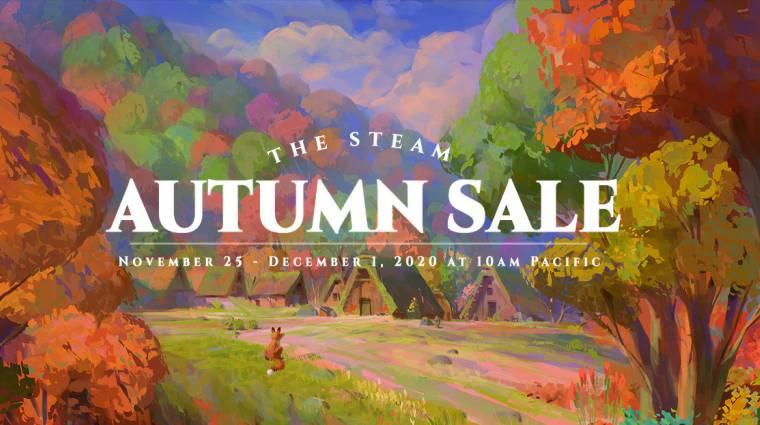 Kezdetét vette a Steam Őszi Vásár, játékok ezreit szerezhetjük be akciósan bevezetőkép
