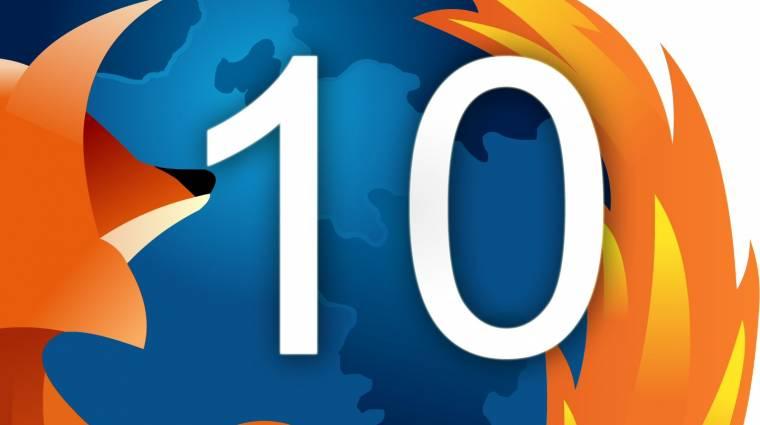 Késnek a Firefox 12 újdonságai kép
