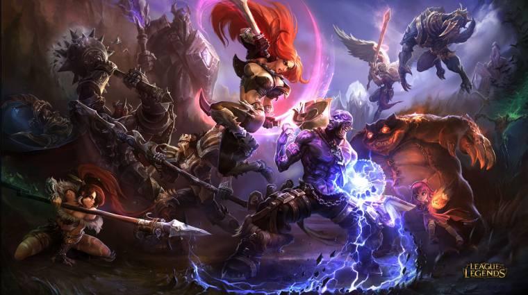A League of Legends még mindig az egyik legnépszerűbb online játék bevezetőkép