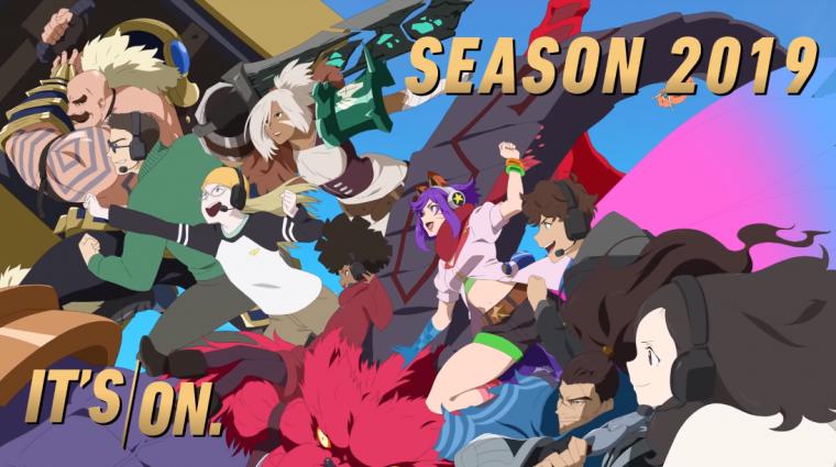 League of Legends - animés videót is kaptunk a 2019-es szezon indulásához bevezetőkép