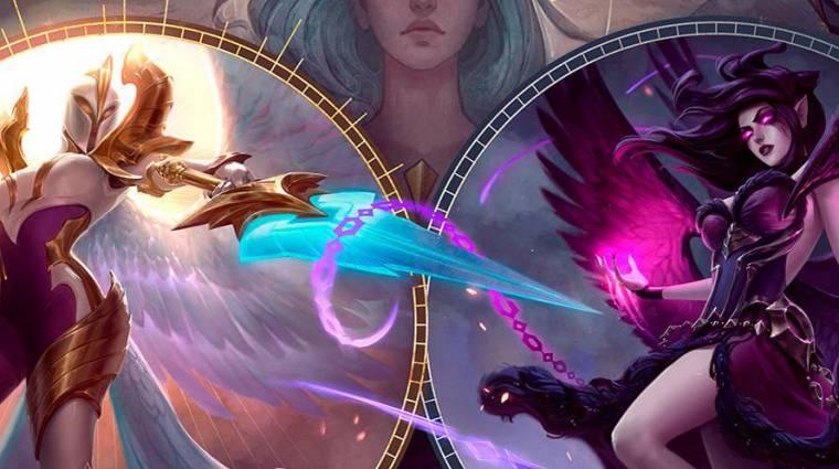 League of Legends - játékmenet videón Morgana és Kayle új modellje bevezetőkép
