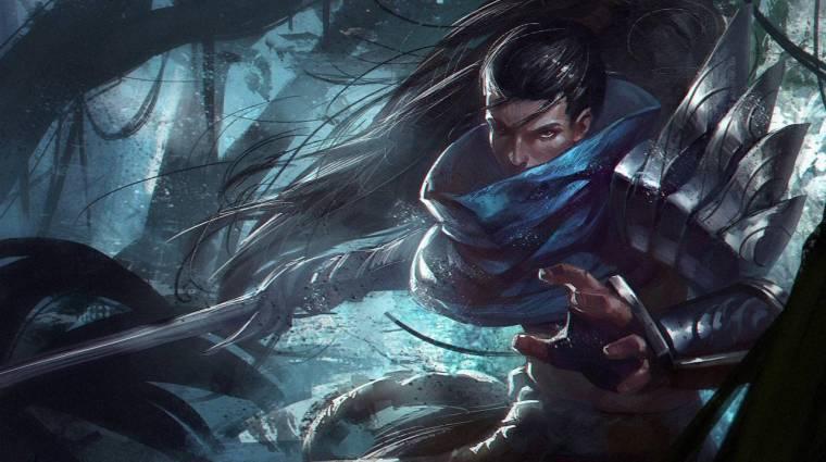 League of Legends - Yasuo már két éve a legtöbbször letiltott bajnok a játékban bevezetőkép