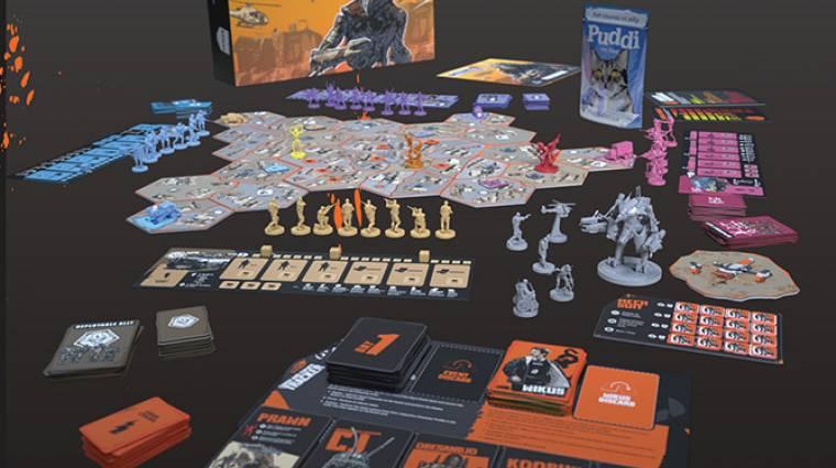 District 9 társasjáték készül bevezetőkép