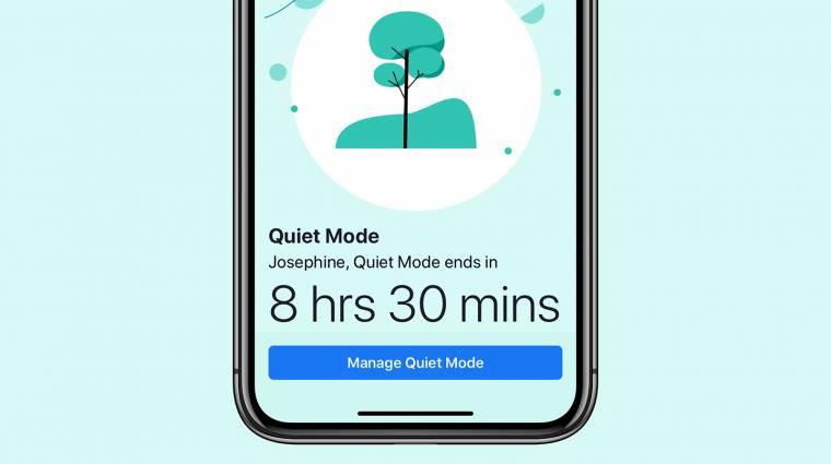 Az iOS-t használó készülékeken már elérhető a Facebook Quiet Mode-ja kép