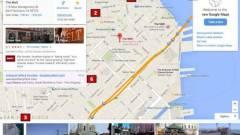 Átalakulhat a Google Maps kép