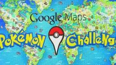 Pokémon játék a Google Maps-en kép