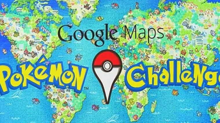 Pokémon játék a Google Maps-en bevezetőkép