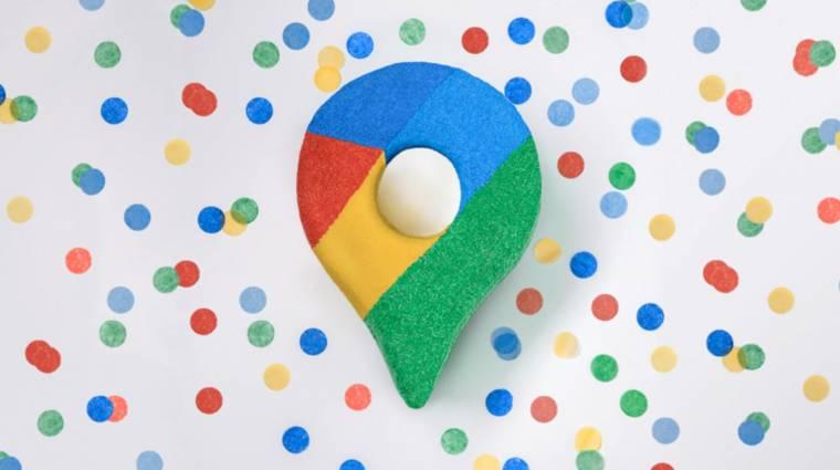 Ez a lánykérés még a Google Térképen is látható kép