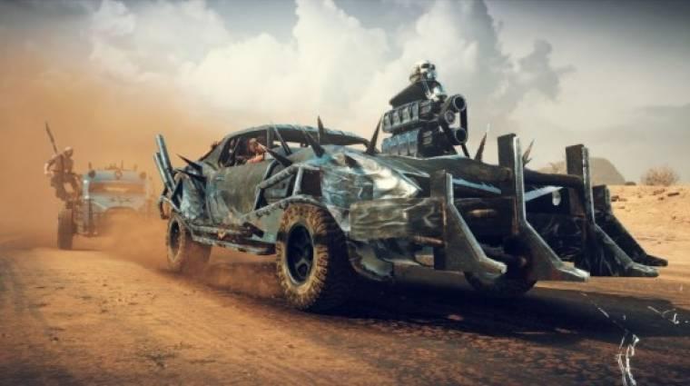 Mad Max gameplay - te hogyan pusztítanál? bevezetőkép