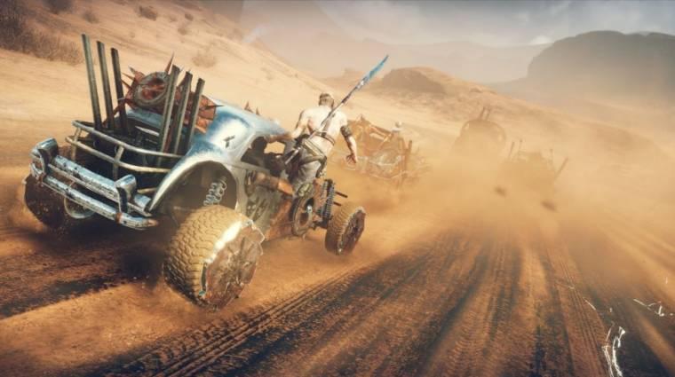 Mad Max - nyolcvan percnyi gameplay érkezett (videó) bevezetőkép