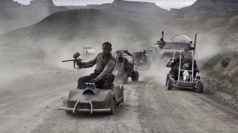 Mad Max - fergeteges videó gokartokkal és paintball csatával bevezetőkép