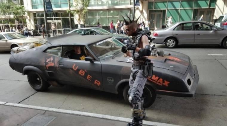Ingyen fuvarozzák Seattle lakóit a Mad Max járgányai bevezetőkép