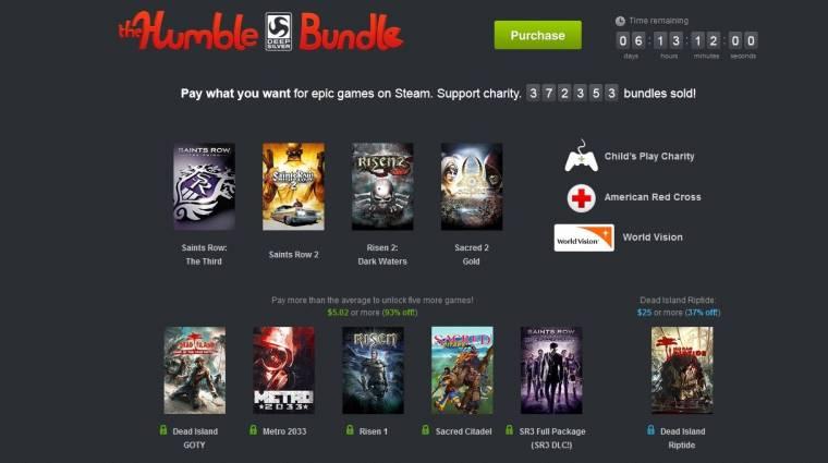 Humble Bundle - újabb címek a Deep Silver csomagjában bevezetőkép