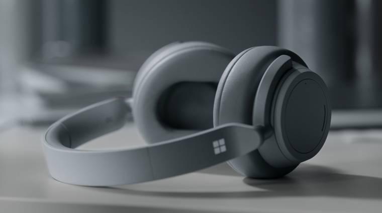 20 órás üzemidőt hoz a Surface Headphones 2 fejhallgató kép