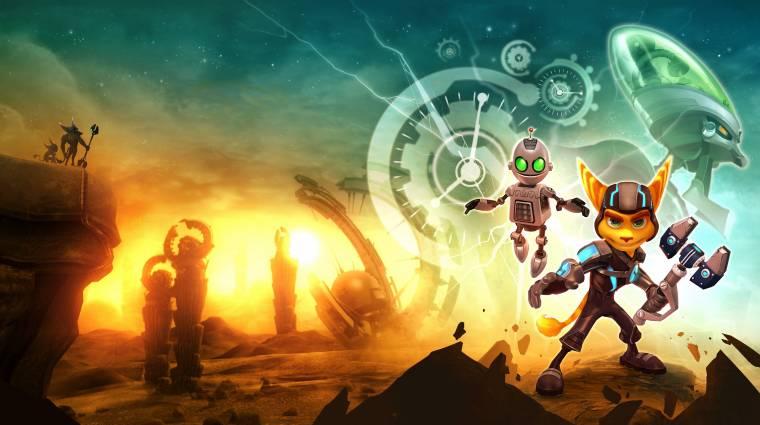 Aranylemezen a Ratchet and Clank Future: A Crack in Time bevezetőkép