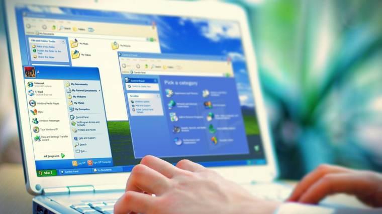 Még mindig sok millió számítógépen fut Windows XP kép