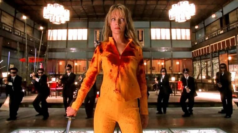 Tarantino és Uma Thurman a Kill Bill 3-at rebesgetik kép