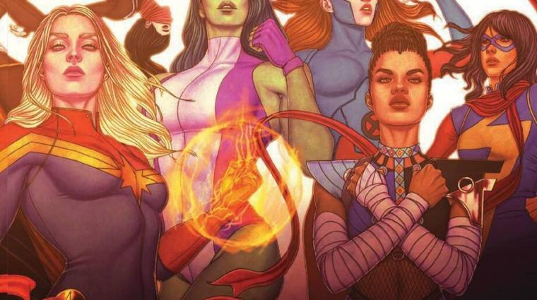 Különleges könyvvel tiszteleg a Marvel a női és nem bináris alkotók előtt bevezetőkép